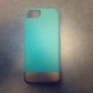 Teal & Gold iPhone 5c case