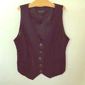 Forever 21 Other - Black Anchor Button Vest...