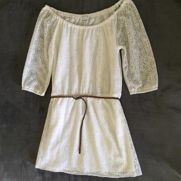 42 delia s dresses skirts delia s white lace