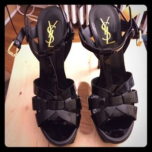 Yves Saint Laurent Shoes - Authentic YSL Tribute Patent Leather