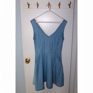 Sale   Topshop Chambray Dress
