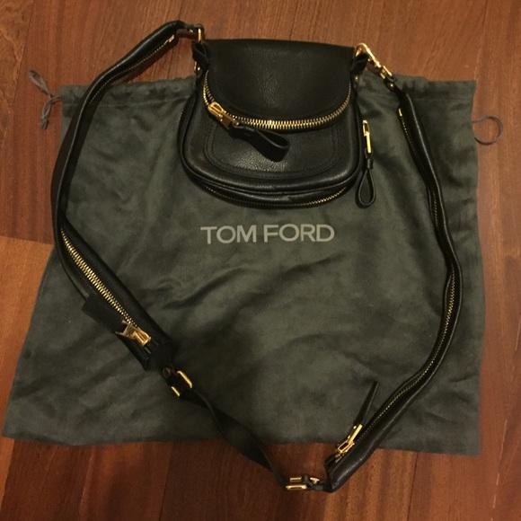 a5d4028e07 Tom Ford black Jennifer micro crossbody bag. M 5622e9e656b2d6aeba004565