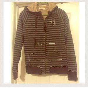 Roxy Jackets & Blazers - Roxy Zip up Coat -WOOL LINING