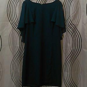 Gorgeous Dark blue silk dress.