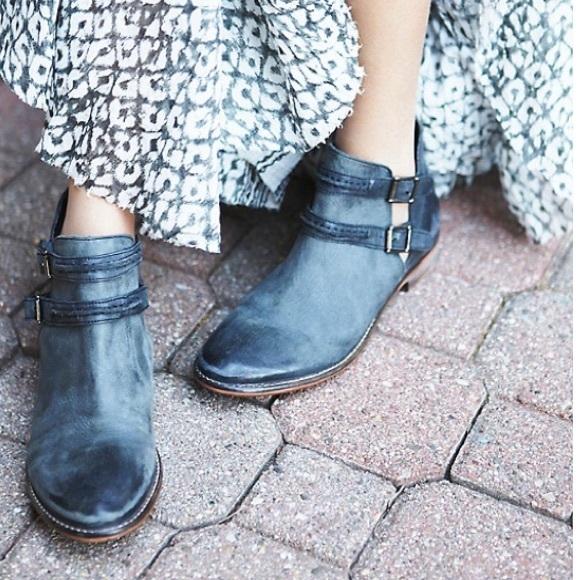 55% off Free People Shoes - SALE Free People Braeburn washed black ...