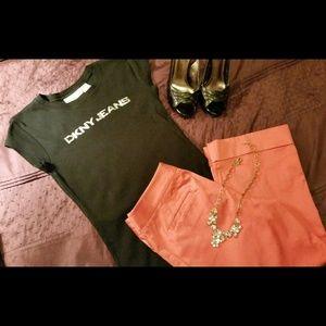 SALEDKNY Jeans T-shirt, Black - Small