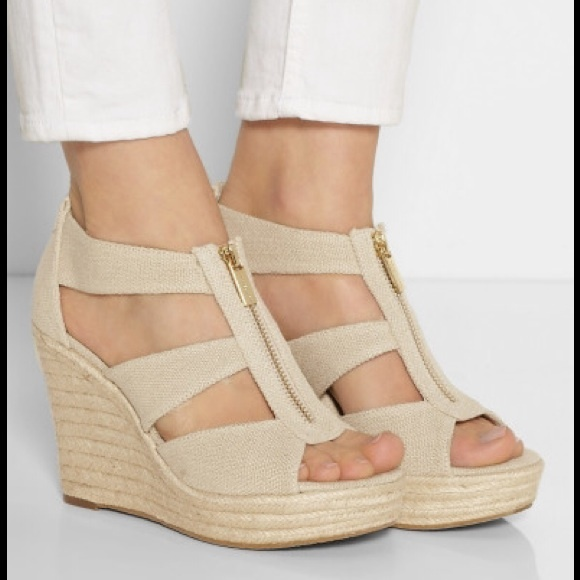 f0b2d8a16b0d M Michael Kors Damita Platform Wedge Sandals