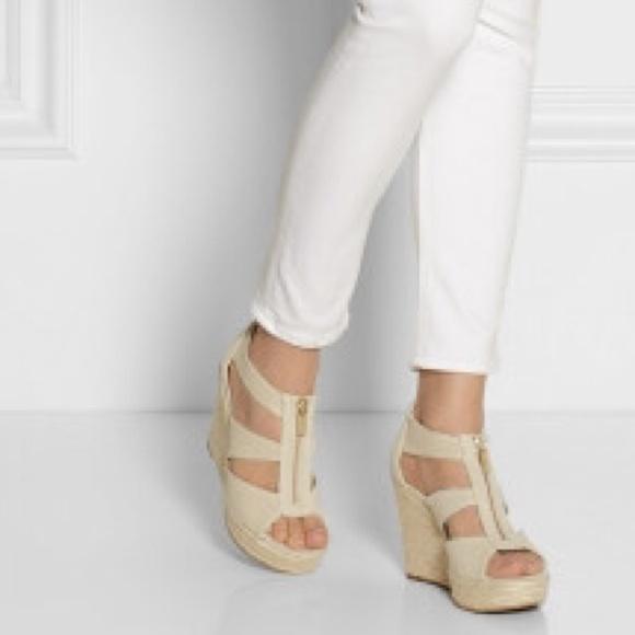 6a3e66c1d13 michael kors  damita  wedge sandal outlet store md - Marwood ...