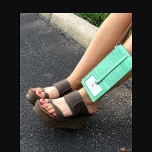 c7011fd6ce4e OTBT Shoes - OTBT Brookfield slide on sandal in Mint(brown)