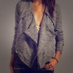 Funktional Drape Sweater Jacket
