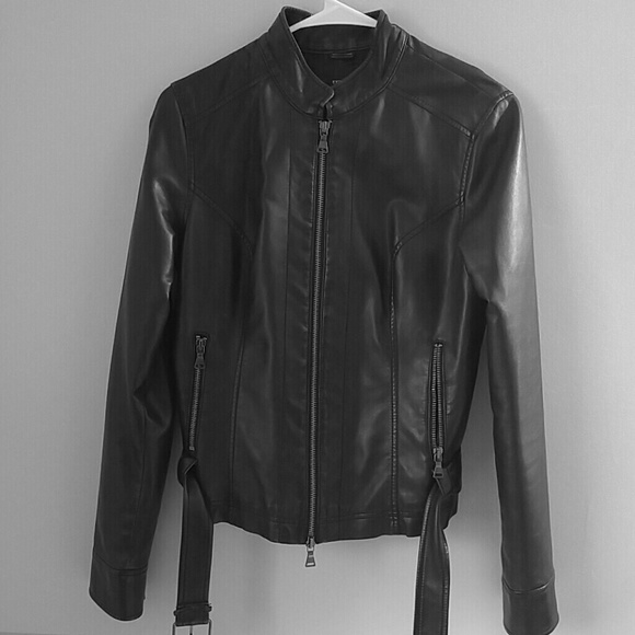 Express Jackets Coats Faux Leather Jacket Poshmark