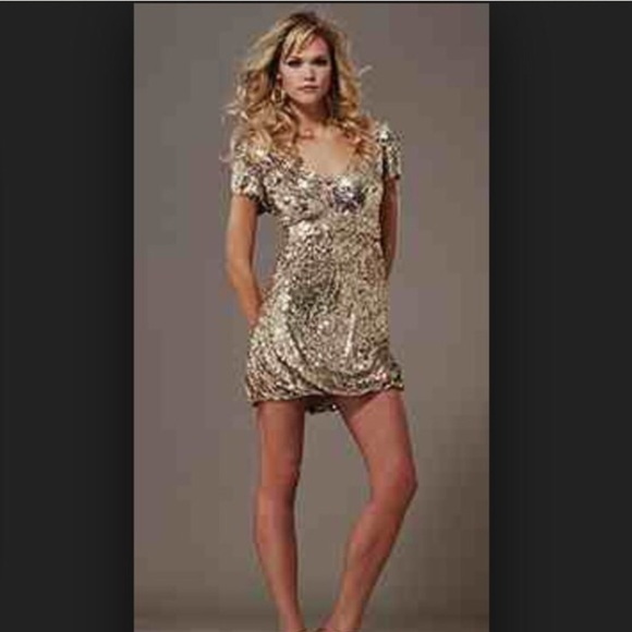 65% off Jovani Dresses &amp- Skirts - Jovani gold sequin dress from ...