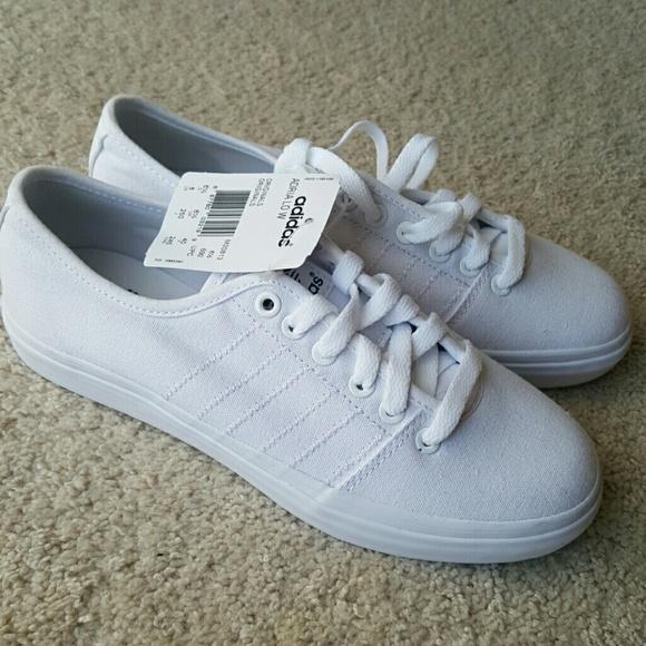 11d7f6deb62e Adidas Adria Lo White