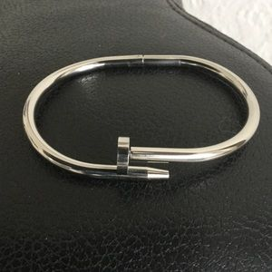 Jewelry - Stainless steel nail designed bracelet
