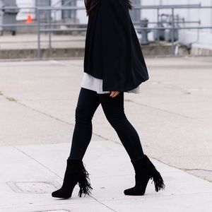 Jeffrey Campbell Fringe Booties