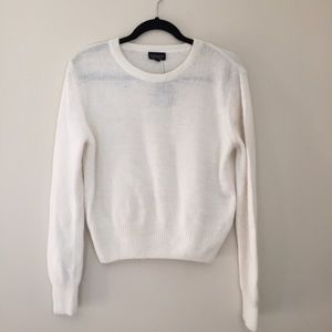 Topshop Sweaters - Top Shop white sweater