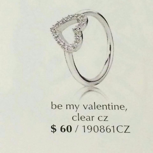 Pandora Be My Valentine Ring