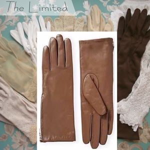 The Limited Accessories - 🆕The Limited E-Tip Leather Gloves