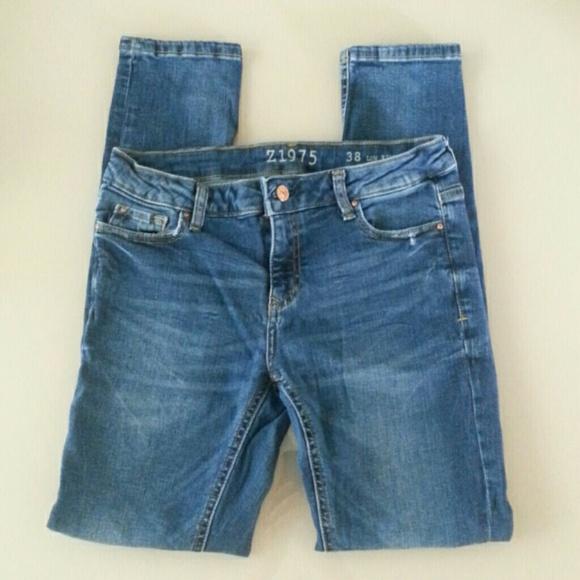 1a977099bc64 Zara Basic Denim 1975 Low Rise Skinny Jean (6) (38