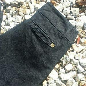 Dana Buchman Wide Leg Trouser Jeans