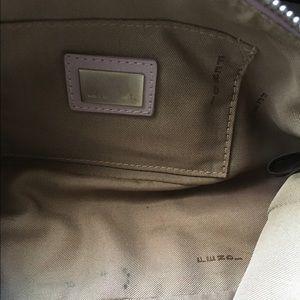 4c58415a7fc7 FENDI Bags - FENDI authentic small LOGO purple purse