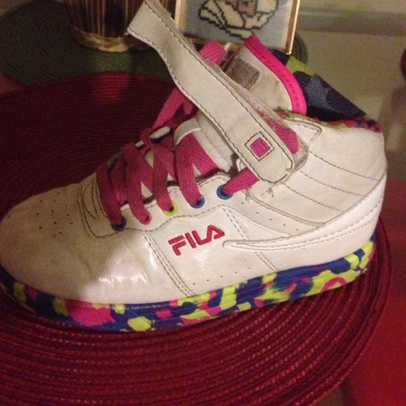 Fila Sneakers High Girls Top Top Sneakers Girls High High Girls Fila 5A3RL4j