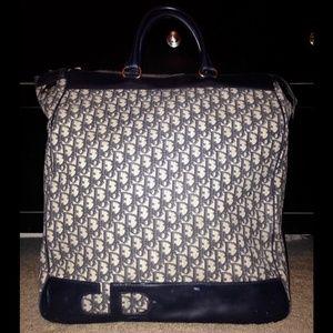 Dior Bags   Vintage Christian Tote Bag Luggage Keepall   Poshmark f23164ab5c