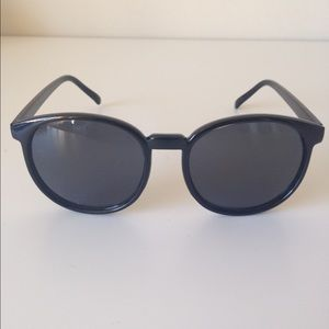 Karen Walker Accessories - round black sunglasses