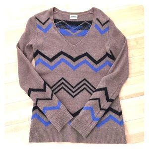 Madewell Chevron Sweater - size small