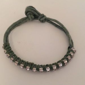 Jewelry - SUEDE CORD ADJUSTABLE BRACELET