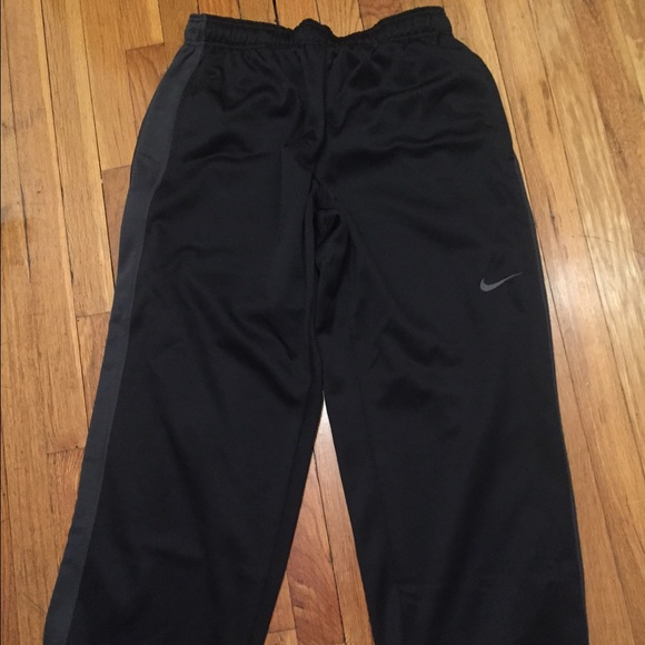 shoes for cheap outlet store sale hot-selling genuine Nike therma-fit black sweat pants