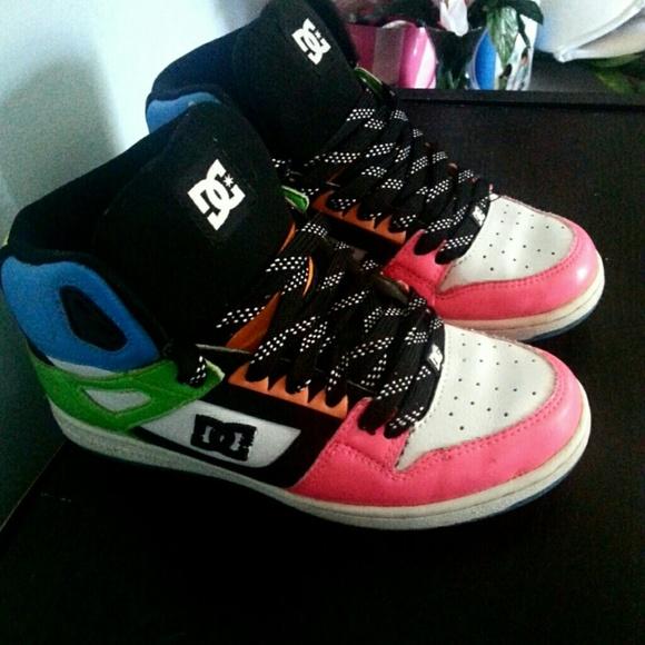 DC Shoes | Neon Dc Shoes | Poshmark