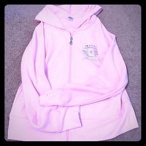 Jackets & Blazers - Pink Las Vegas hoodie