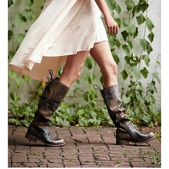 39% off bed stu shoes - bed stu manchester ii tall - black rustic