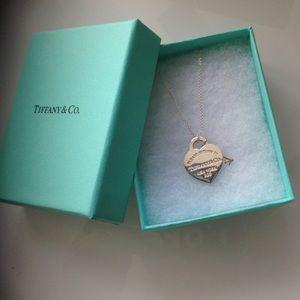 Tiffany & Co. Jewelry - Tiffany & Co. Heart and Key Necklace. NO TRADES