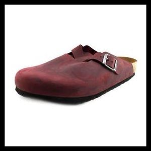 Birkenstock Boston Clog - Soft Footbed - Zinfandel