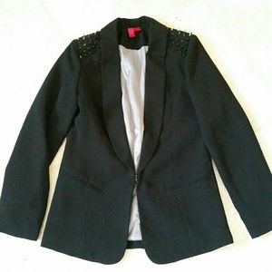 Jackets & Blazers - Studs Black Blazer