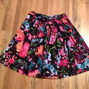 Thakoon Dresses & Skirts - Thakoon for Target black floral full skirt