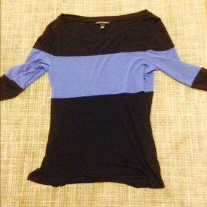 Colored block top from banana republic