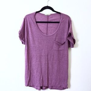 Alternative Earth Tops - Alternative Earth slouchy cotton tee.