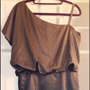 Jessica Simpson Dresses - Jessica Simpson One Shoulder Satin Cocktail  Dress