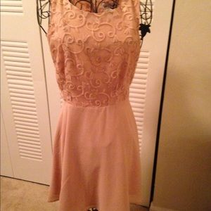 Blush/ Nude colored dress. Extra Small