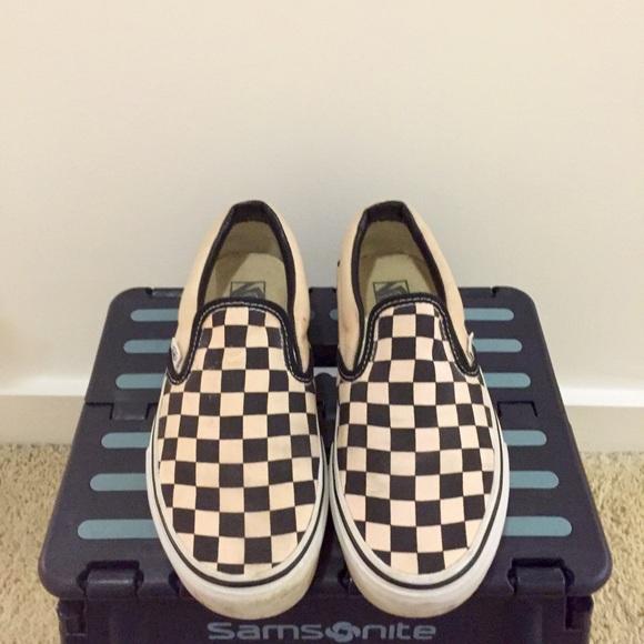 Chaussures Vans Femmes Blanc Taille 6 3gjl43M