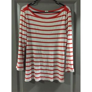Did you scroll all this way to get facts about orange stripe top? Well you're in luck, because here they come. There are orange stripe top for sale on Etsy, and they cost $ on average. The most common orange stripe top material is cotton. The most popular color? You guessed it: orange.