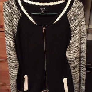 Paper Heart sweater jacket from LF stores