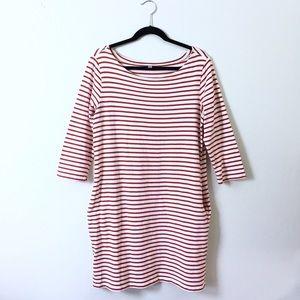 UNIQLO Dresses & Skirts - Uniqlo striped tee dress.