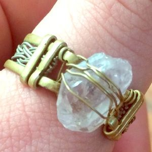 Crystal ring from Tulum