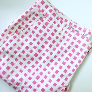GAP Pants - GAP Skinny Mini pink square khakis.