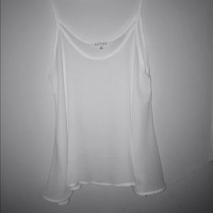 Tops - flowy sheer tank top