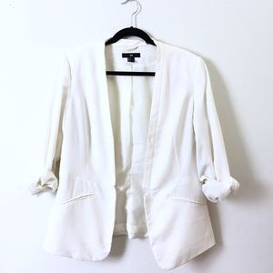 H&M Jackets & Blazers - H&M white tailored blazer.